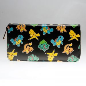 Pokemon Letter Zip Around Wallet Women Purse DFT 1987 1