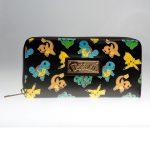 - Pokemon Letter Zip Around Wallet Women Purse Dft 1987