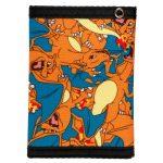 Pokemon-Rubber-Charizard-Sublimated-Canvas-Wallet-Women-Purse-Dft-2035