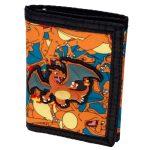 Pokemon Rubber Charizard Sublimated Canvas Wallet Women Purse DFT 2035