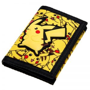 - Pokemon Wallet Trifold Nylon Wallet Women Purse Dft 2036