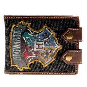 Merchandise Wallet Harry Potter Hogwarts Badge Embroidered