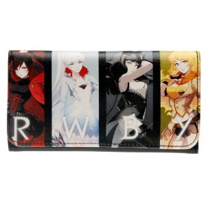- Rwby Wallet Female Pu Leather Wallet Leisure Purse Colorful Style 3Fold Flowers Printing Women Wallets Long