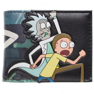 - Rick And Morty Bifold Wallet Dft 10049