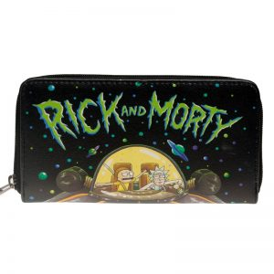 - Rick And Morty Letter Zip Around Wallet Pu Long Fashion Women Wallets Designer Brand Purse Lady