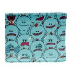 Rick-And-Morty-Pu-Faux-Leather-Bifold-Wallet-Dft-10119