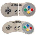 Super-Nintendo-Bi-Fold-Wallet-Women-Purse-Dft-3701