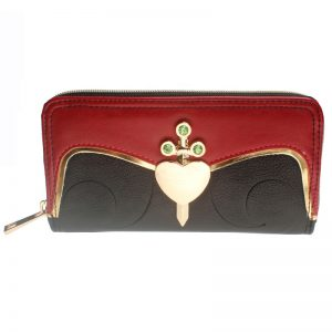 - Snow White Evil Queen Womens Zip Around Wallet Dft 1992 6