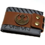 Star-Wars-Rogue-One-Rebel-Snap-Bi-Fold-Men-Wallet-with-Metal-Logo-Badge-Women-Purse