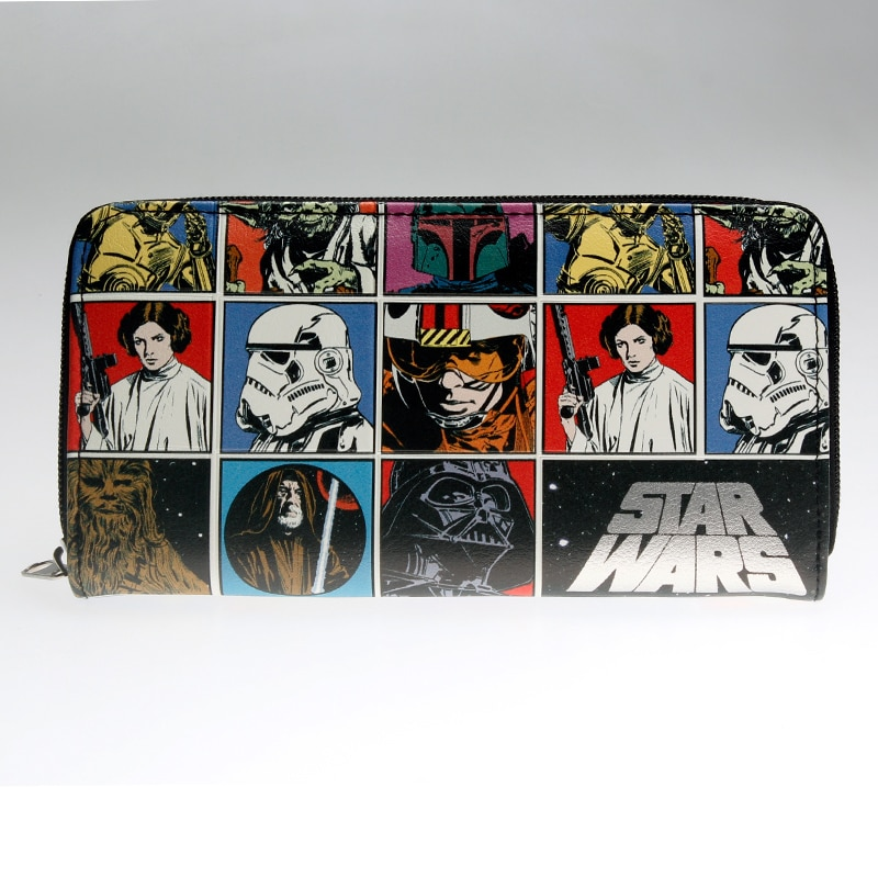 Star-Wars-Zip-Around-Wallet-Fashion-Women-Wallet-Designer-Brand-Purse-Lady-Party-Wallets-Female-Card