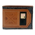 Star-Wars-Wallet-Brown-Gray-Embossing-Rubber-Badge-Bi-Fold-Men-Wallet-Women-Purse-Dft-3089