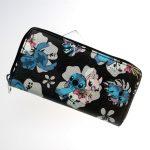- Stitch Zip Around Wallet Fashion Women Wallet Designer Brand Purse Lady Party Wallets Female Card Holder