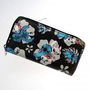 Merchandise Purse Lilo And Stitch Pattern Floral Wallet Bag