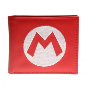 - Super Mario Bifold Wallet Coins Purse Dft 2737