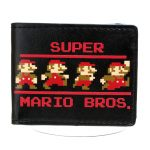 Collectibles Wallet Super Mario Bros. Nintendo 8 Bit