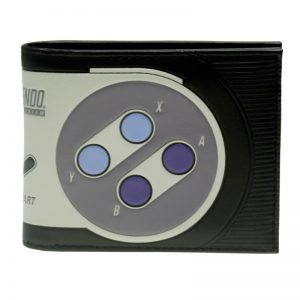 Super Nintendo Bi Fold Wallet Women Purse DFT 2215
