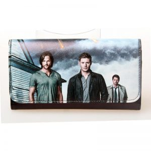 - Supernatural Sam And Dean Winchester Brothers Showed Signs Nwt Permission Long Wallet Dft 1386