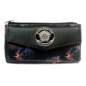 - Supernatural Top Zip Juniors Wallet Women Purse Dft 5512