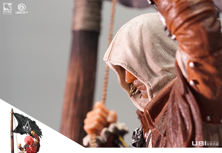 Merchandise Assassin'S Creed Edward Figurine Scale Statue Black Flag