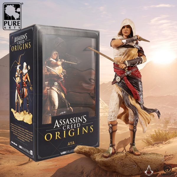 Assassin S Creed Origins Aya Statue 27 Cm Idolstore