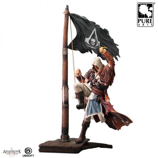 Assassin S Creed Edward Figurine Scale Statue Black Flag Idolstore