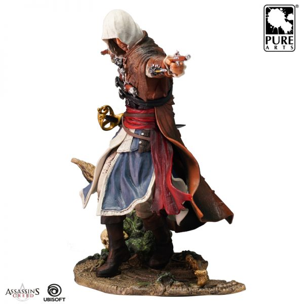 Assassin S Creed Edward Statue Collectible Figurine Black Flag