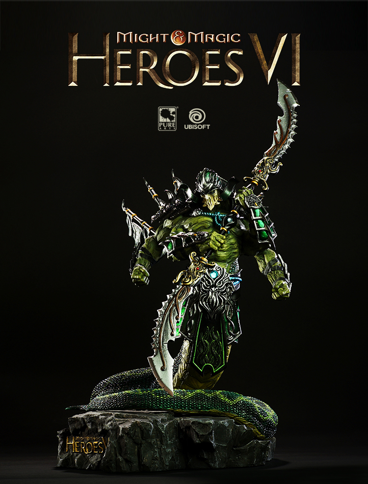 Merch Akasha Statue Limited Edition Heroes Of Might And Magic 6