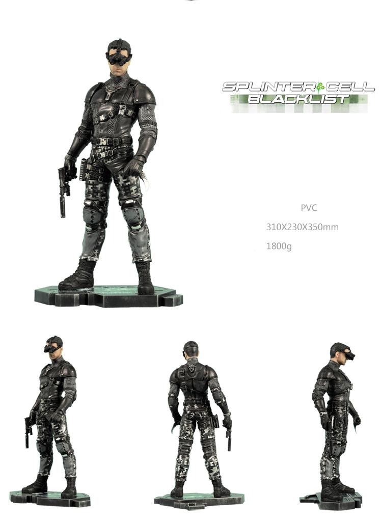 Merchandise Tom Clancy'S Splinter Cell Sam Fisher Statue Scale