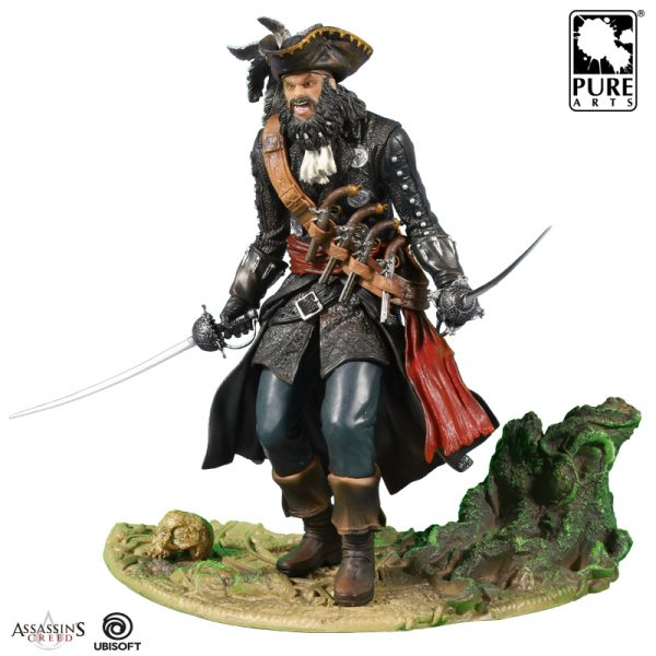 Assassin S Creed 4 Blackbeard Statue Figurine Black Flag Idolstore