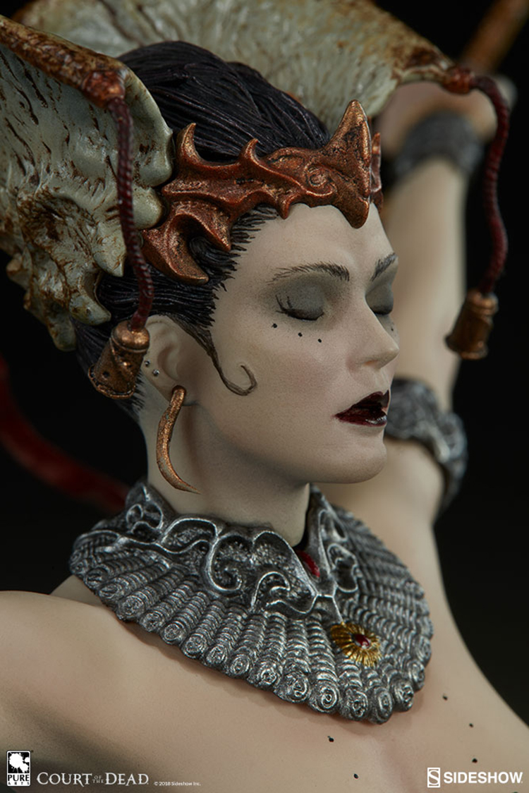 Merch Court Of The Dead Statue Gethsemoni Queens Conjuring 25 Cm