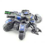 Collectibles Siege Tank Statue Starcraft 2 Figure Blue Edition
