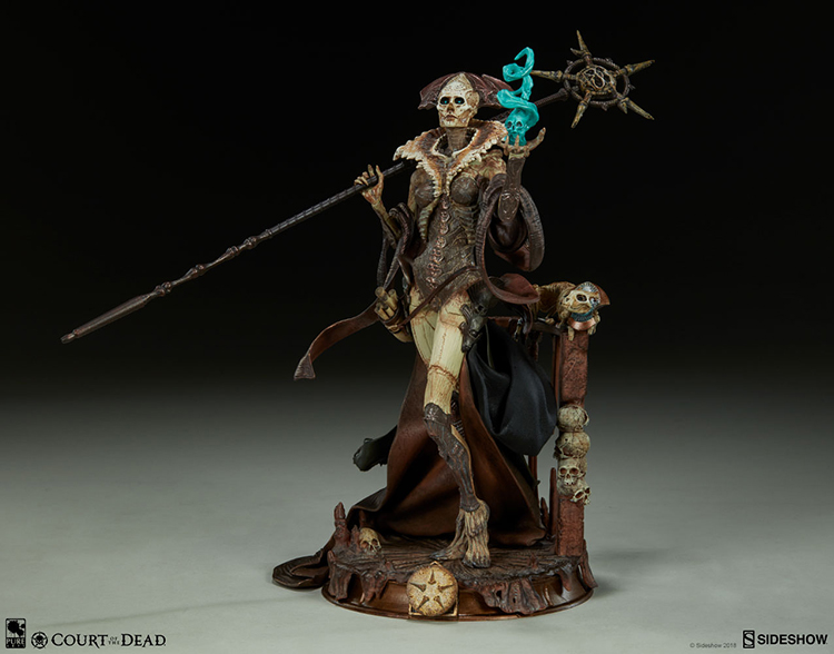 Merchandise Court Of The Dead Statue Xiall Osteomancers Vision 33 Cm