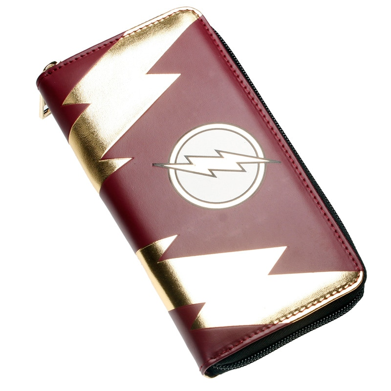 - The Flash Zip Around Wallet Pu Long Fashion Women Wallets Designer Brand Purse Lady Party Wallet