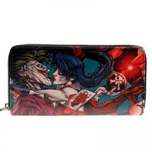 Merchandise Purse Joker Harley Quinn Romance Illustration
