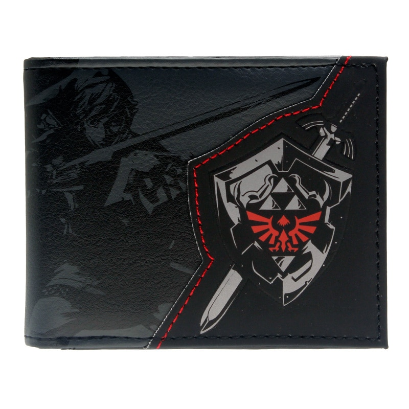 The Legend of Zelda Wallet Shadow Link Bifold Men Wallet women Purse DFT 1857