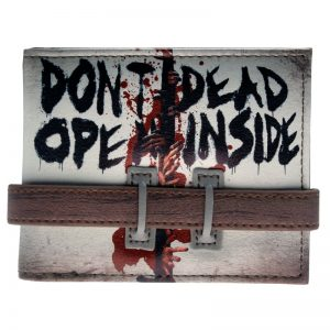 - Walking Dead Don T Open Bi Fold Wallet Dft 2016