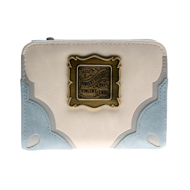 - Westworld Deluxe Bi Fold Wallet Women Beige Purse Dft 6722