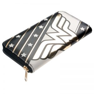 - Wonder Woman Zip Around Ladies Wallet Purse Dft 1886