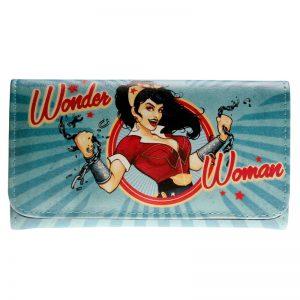 Merchandise Purse Wonder Woman Vintage Pattern Comics