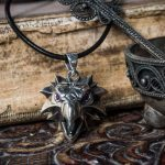 Merchandise Gryphon Amulet Necklace Silver The Witcher