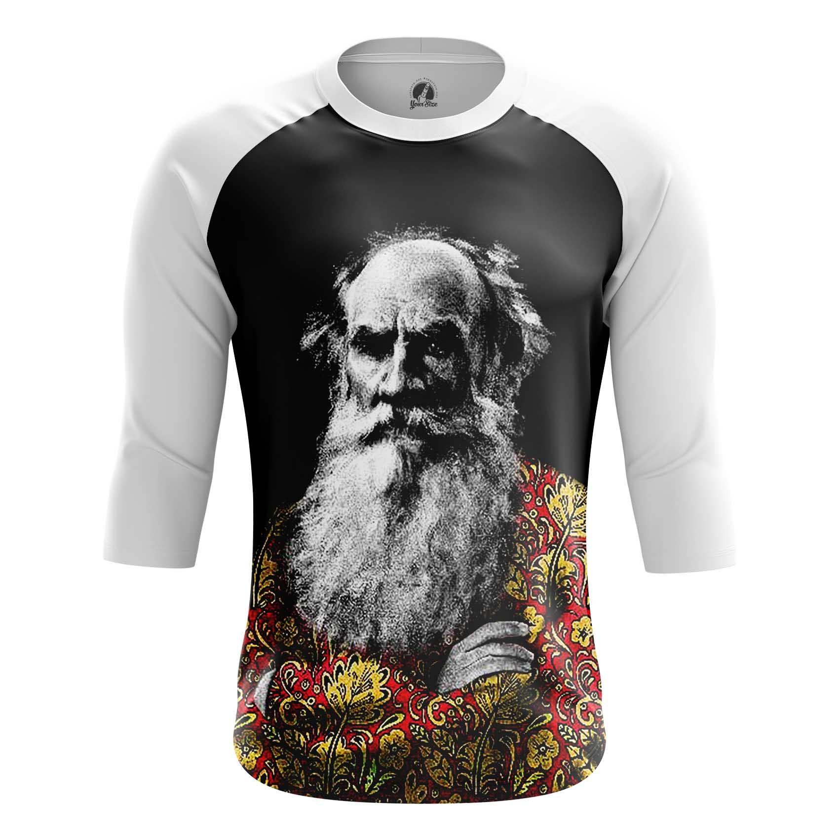 Merchandise Men'S T-Shirt Leo Tolstoy Russian Writer