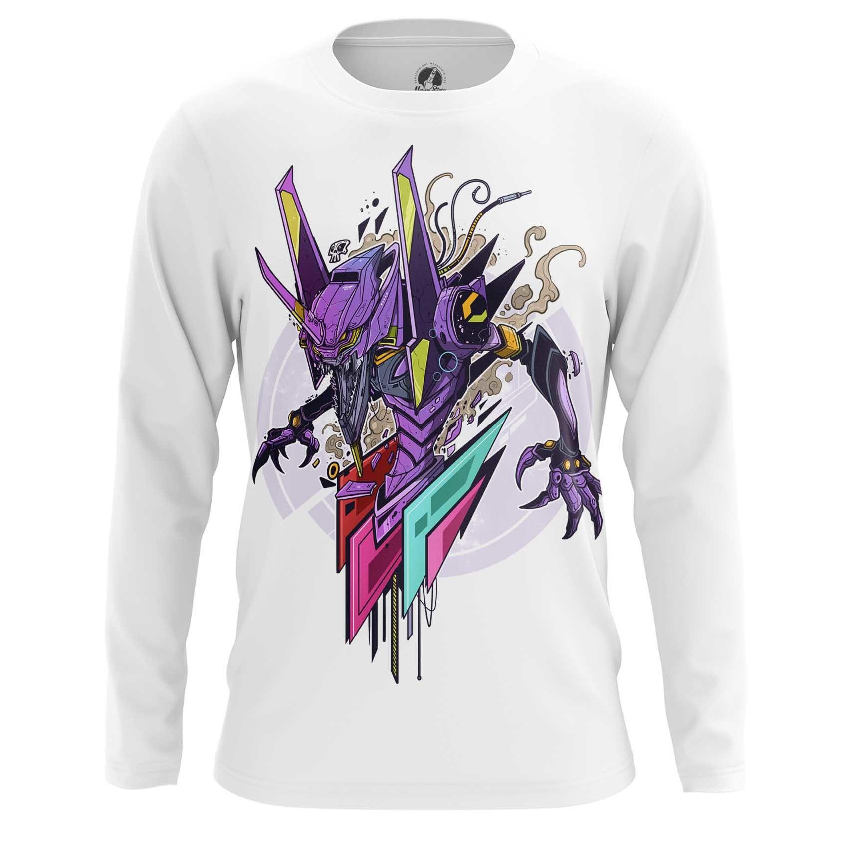 Merchandise Long Sleeve Unit 1 Art Eva Neon Genesis Evangelion