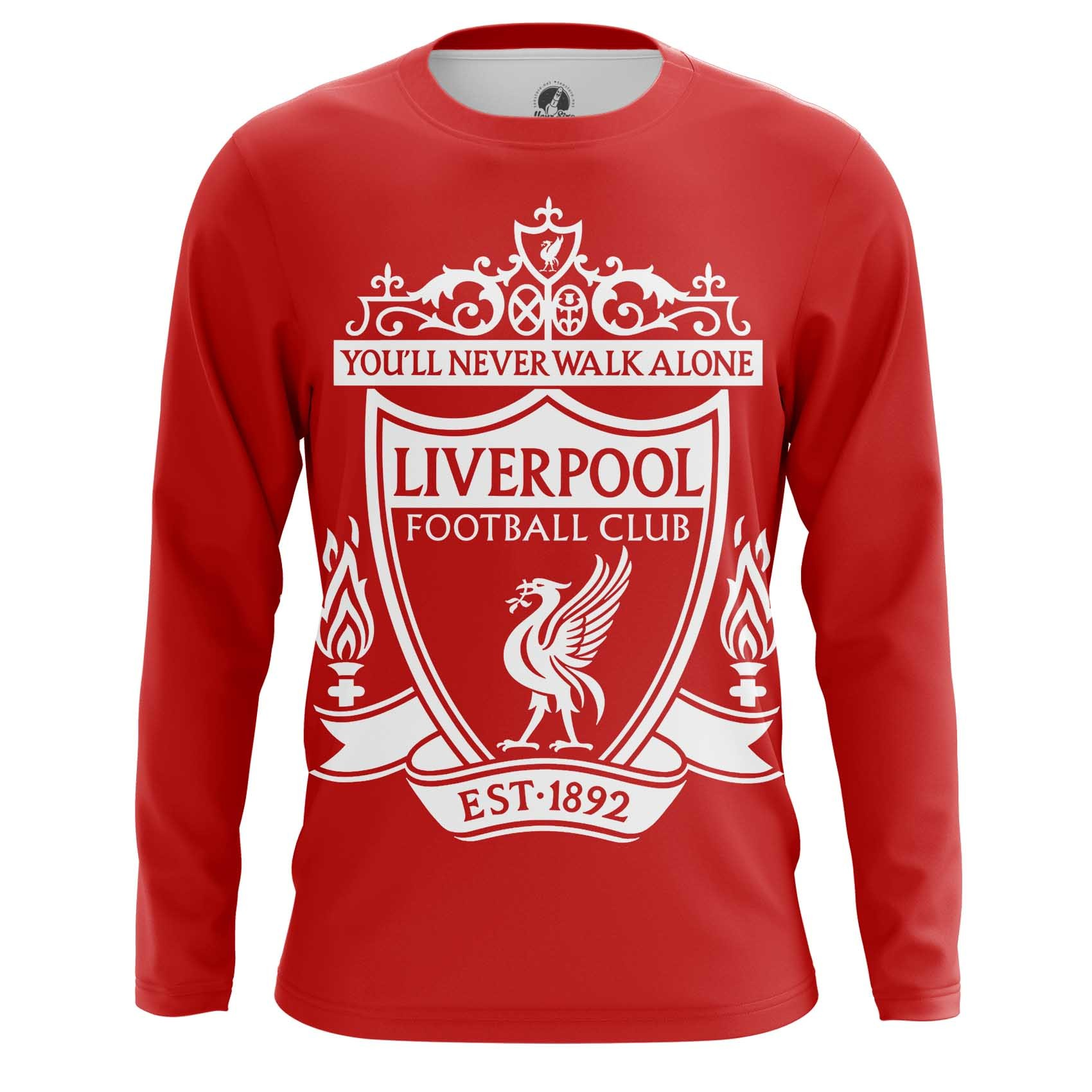 Collectibles Long Sleeve Liverpool Fan Football