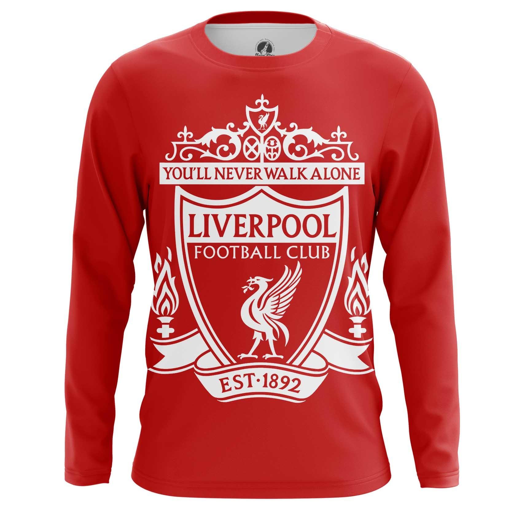 Merch Men'S T-Shirt Liverpool Fan Football