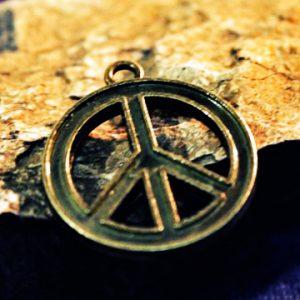 Merch Necklace Pacific Symbol Hippie Sign Pendant