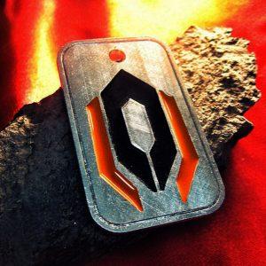 Merch Necklace Mass Effect Cerberus Badge Pendant