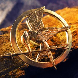 Merchandise Brooch Mockingjay Hunger Games Pin Handmade