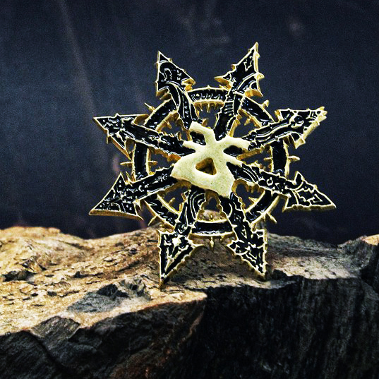 Necklace Pendant Warhammer 40k Chaos Star