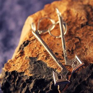 Merchandise Earrings Thorin Oakenshield Thorin'S Axe Hobbit