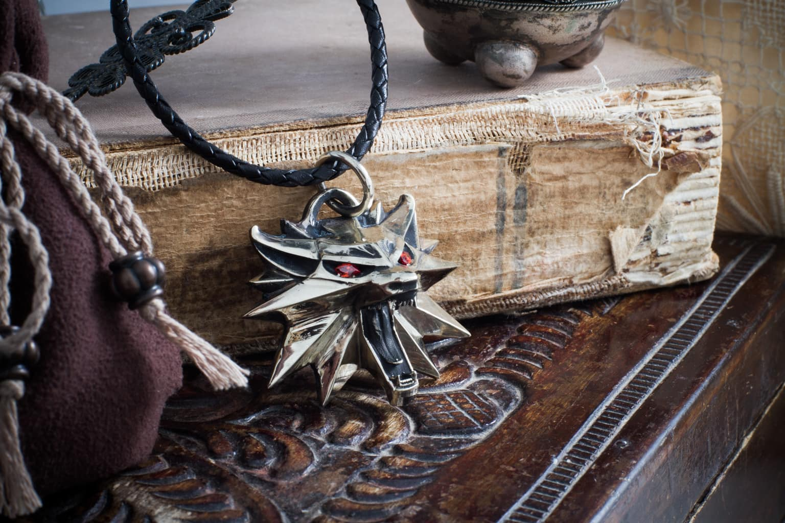 Merchandise The Witcher Necklace Loot Silver 925